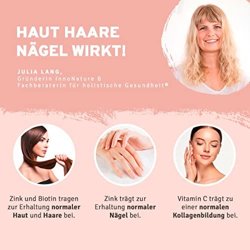 Vitaminpräparat InnoNature Haut Haare Nägel Komplex - 2