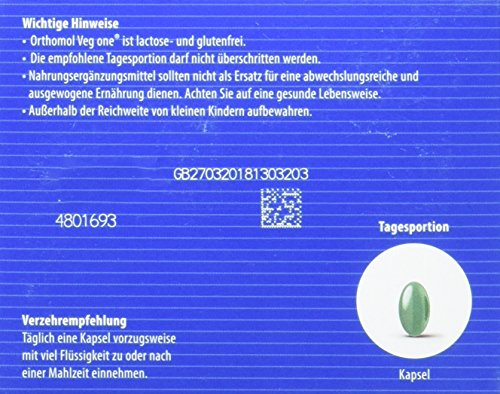Vitaminpräparatetest Produkt orthomol veg one - 3