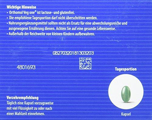 Vitaminpräparatetest Produkt orthomol veg one - 3