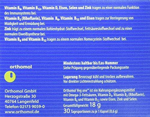 Vitaminpräparatetest Produkt orthomol veg one - 4
