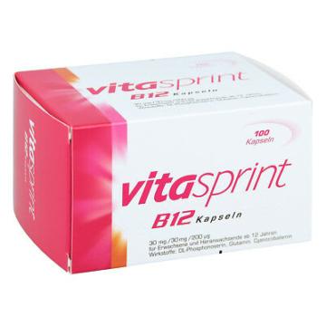 Vitaminpräparatetest Produkt Vitasprint B12 Kapseln 100 Stück