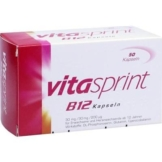 Vitaminpräparatetest Produkt Vitasprint B12 Kapseln 50 Stück